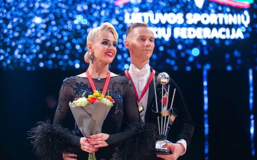 Nebeaišku, ar Lietuvos šokėjų pora šiais metais turės galimybę ginti titulą