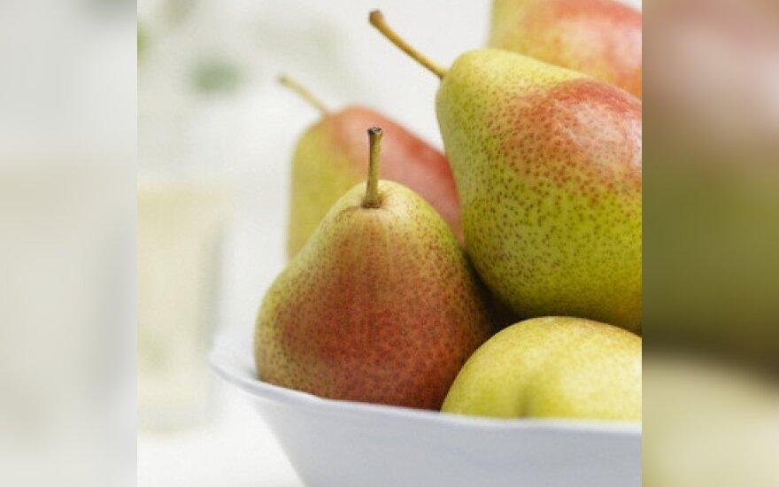 Kriaušės, vaisiai