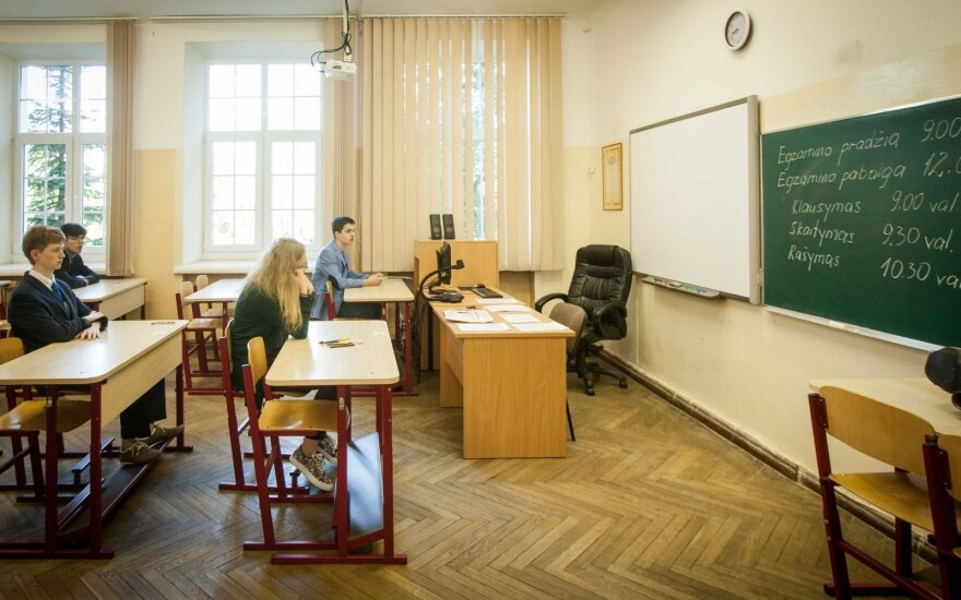 Mokinė baisisi mokytojų elgesiu artėjant egzaminams