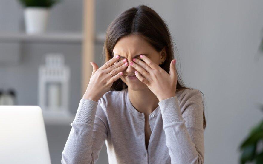 Sausų akių sindromas