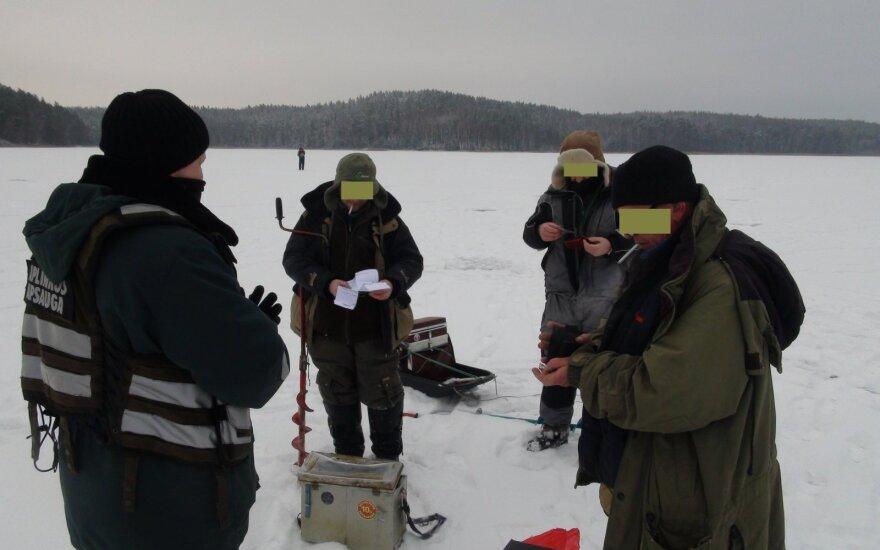 Sulaikyti žvejai