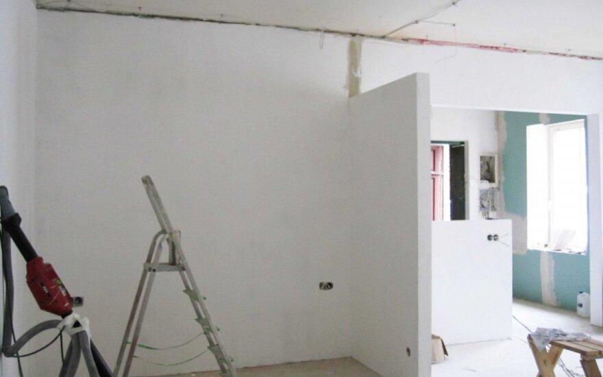 Nauja tvarka: norint remontuoti butą reikės kreiptis į savivaldybę