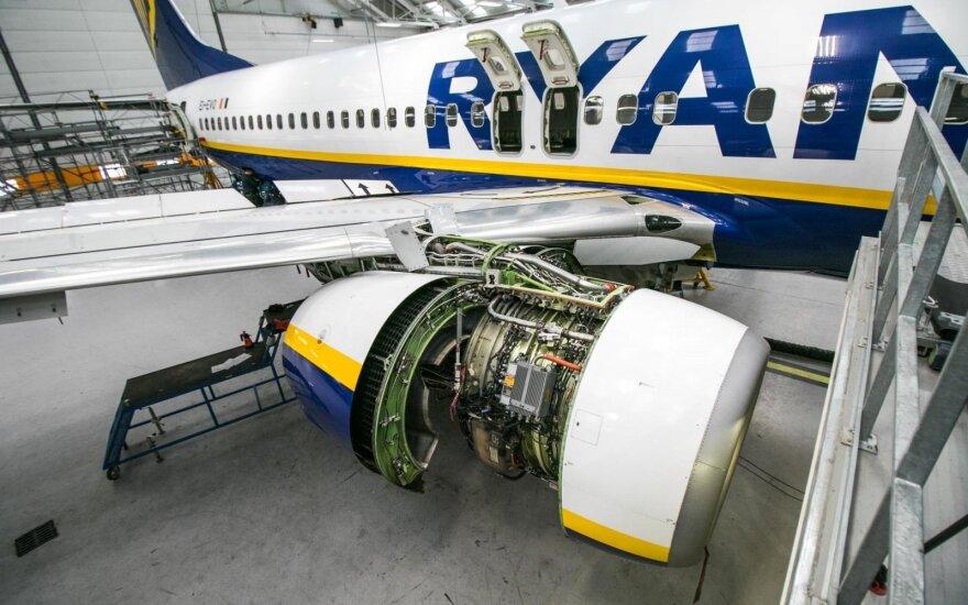 """""""Ryanair"""" pilotai Airijoje rengia naują streiką"""