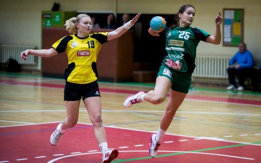 Lietuvos moterų rankinio čempionate – favoričių pergalės