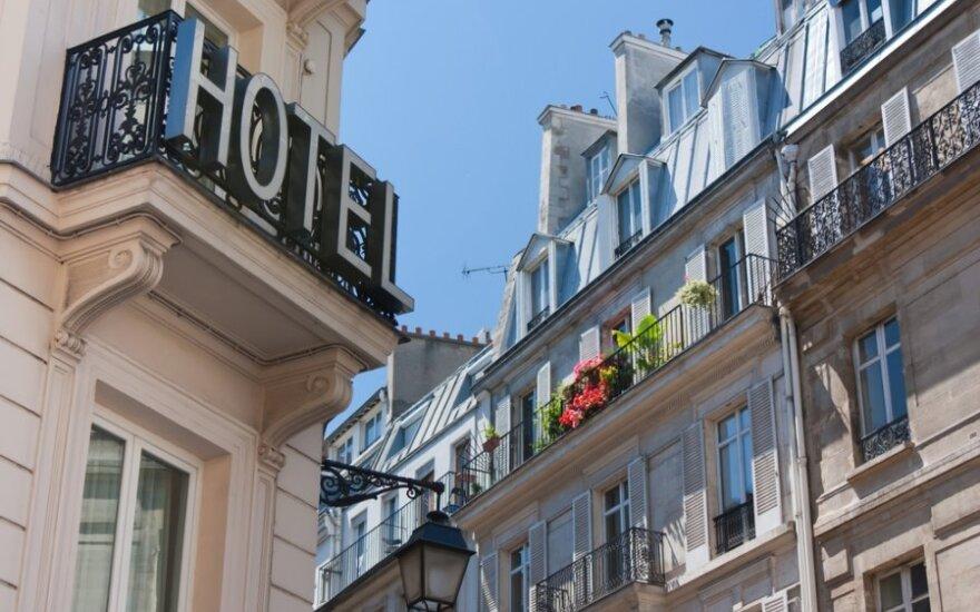 Daugėja Lietuvos viešbučiuose apsistojančių turistų