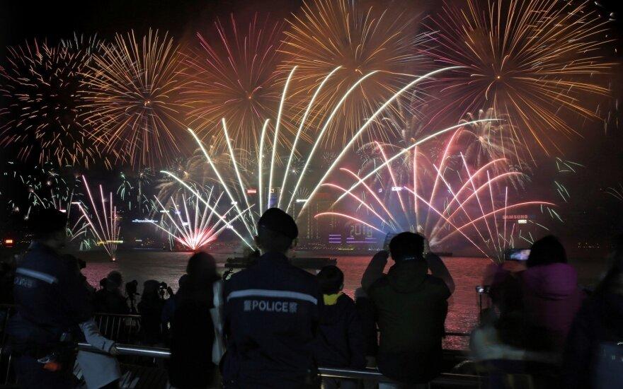 Naujųjų metų sutikimas Honkonge