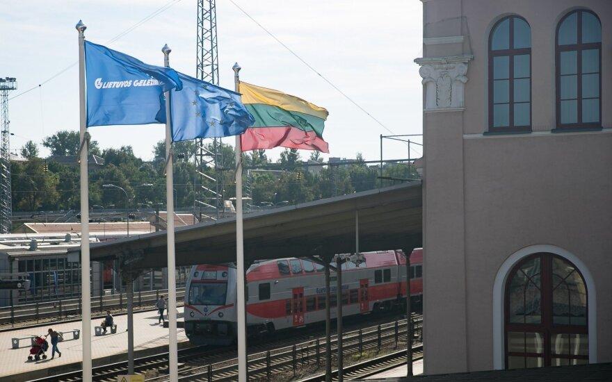 """Rokas Masiulis Briuselyje kalbėjosi dėl """"Lietuvos geležinkelių"""""""