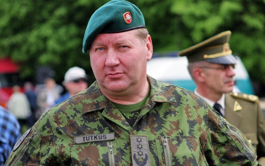 Atsargos generolas leitenantas Valdas Tutkus
