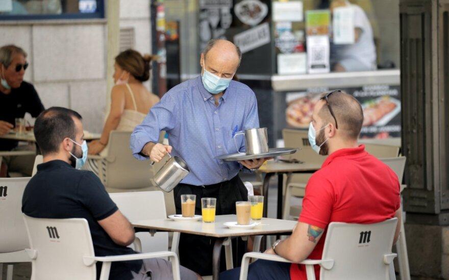 Ispanijoje – 1178 nauji viruso atvejai ir 26 mirtys