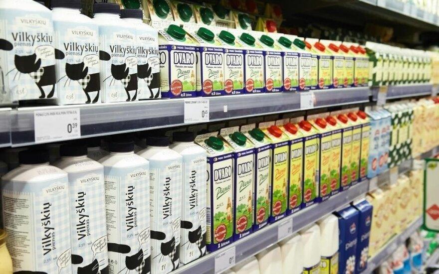 Asociacija kritikuoja sprendimą dėl gaisro Alytuje atšaukti iš rinkos pieno produktus