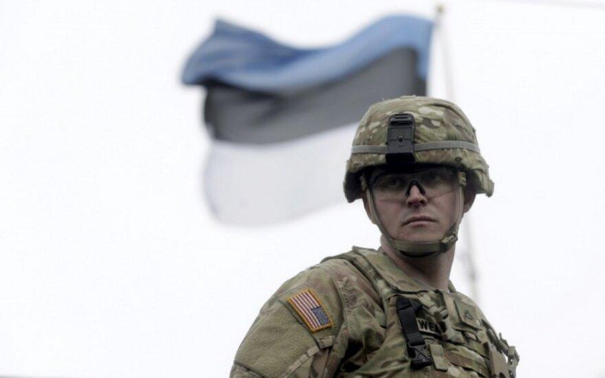 Estijos gynybos ministerija taiką ir stabilumą regione laiko JAV nuopelnu