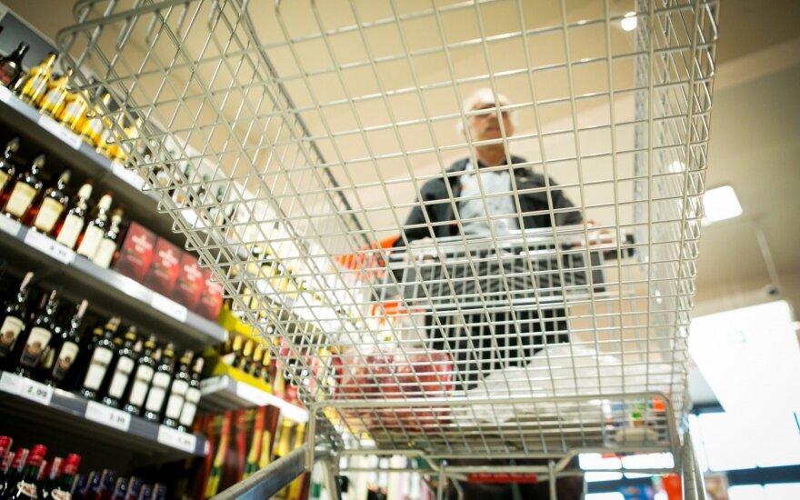 Tyrimas: daugiau nei pusė lietuvių per savaitę maistui išleidžia iki 30 eurų