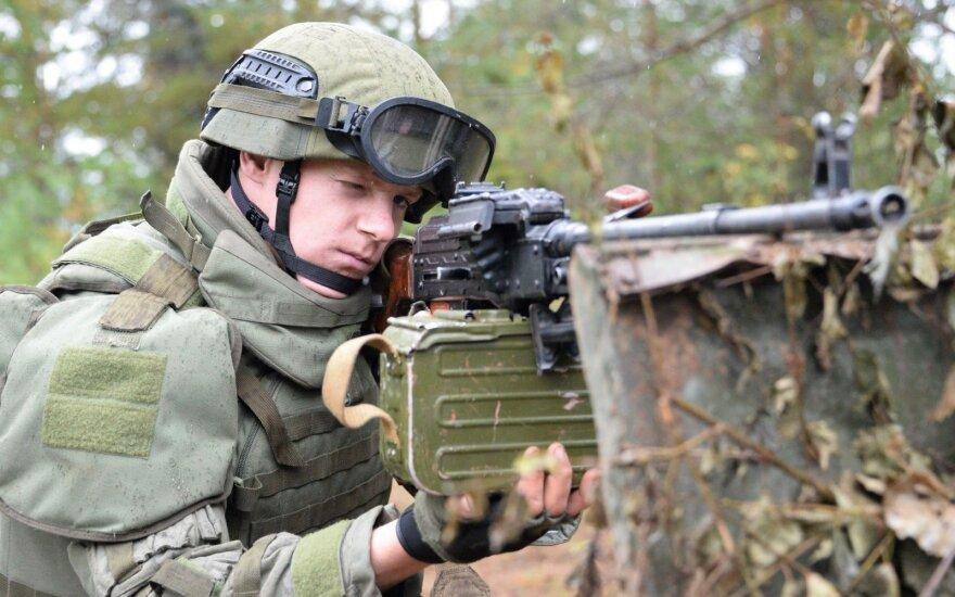 """Maskva neigia Ukrainos pareiškimą, kad ne visi rusų kariai buvo išvesti iš Baltarusijos po """"Zapad"""" pratybų"""