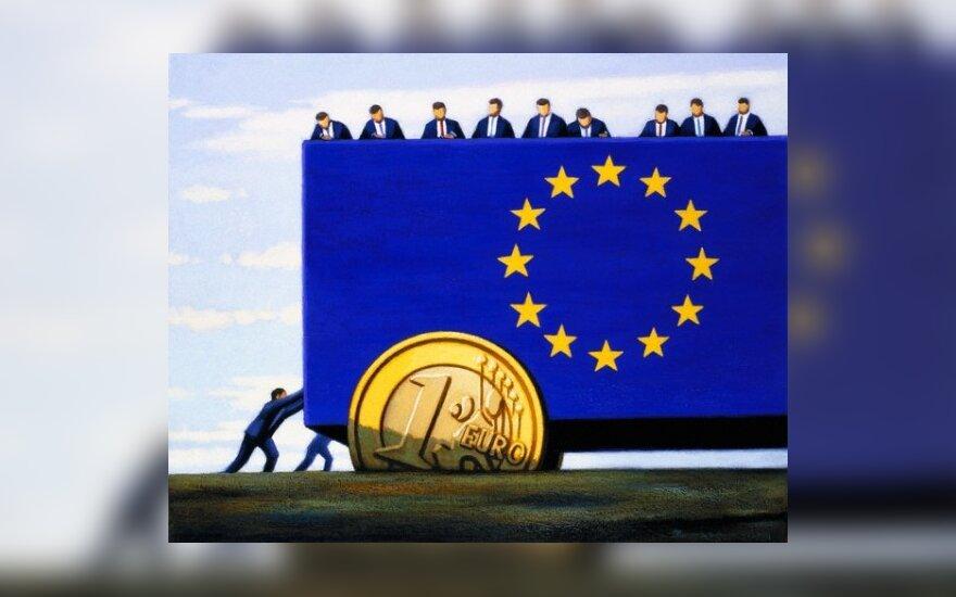 Citigroup: tik Jungtinės Europos Valstijos gali išgelbėti eurą