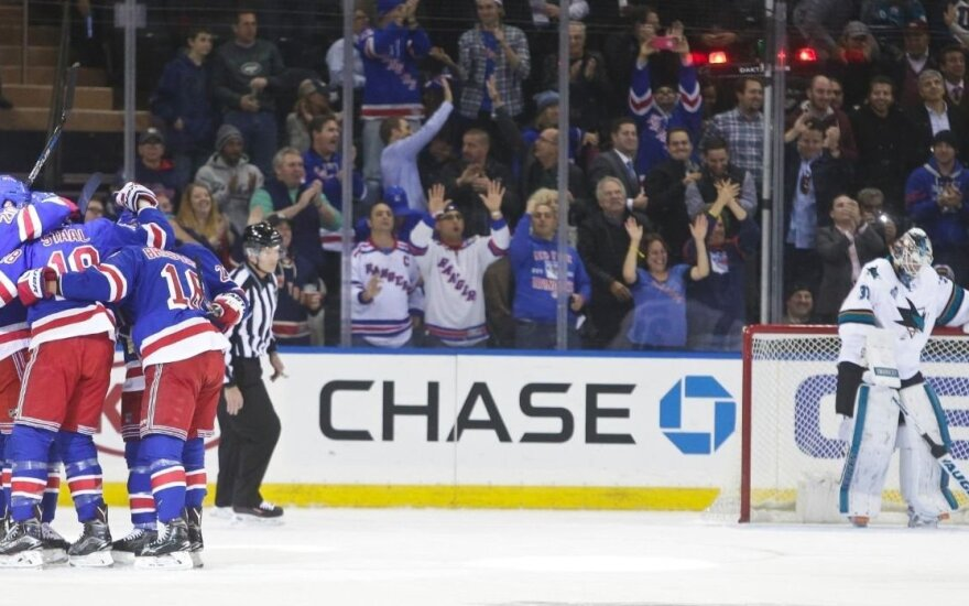 """Niujorko """"Rangers"""" ledo ritulininkai"""