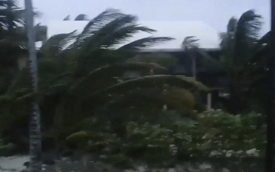 """Uraganas """"Dorian"""" pasiekė Bahamas"""