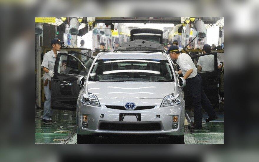 Toyota gamykla