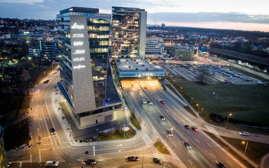 Vilniuje – ketinimai ilginti tunelį prie Seimo ir statyti dangoraižius
