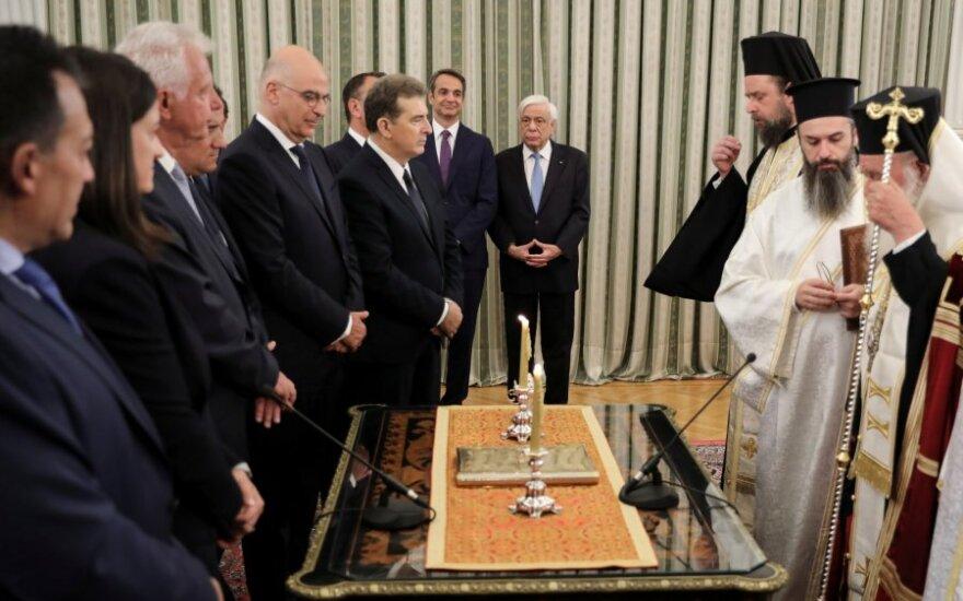 Graikijoje prisaikdinta naujoji vyriausybė