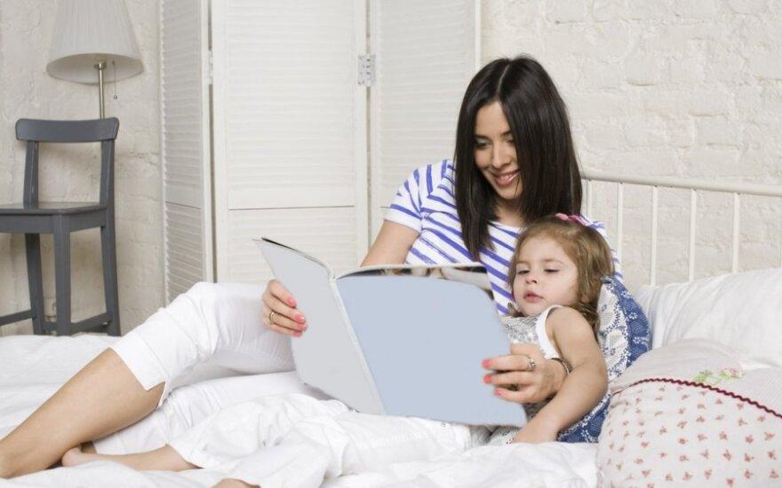 Ką daryti, jei vaikas nenori eiti miegoti?