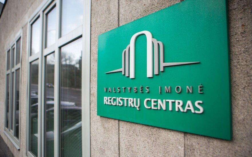 Registrų centras: du trečdaliai viešųjų įstaigų neatskleidžia informacijos apie dalininkus