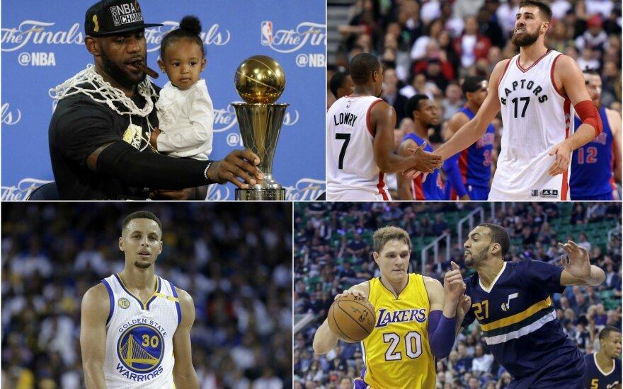 Kurie NBA žaidėjai šiemet uždirbs daugiausiai? (Scanpix nuotr.)
