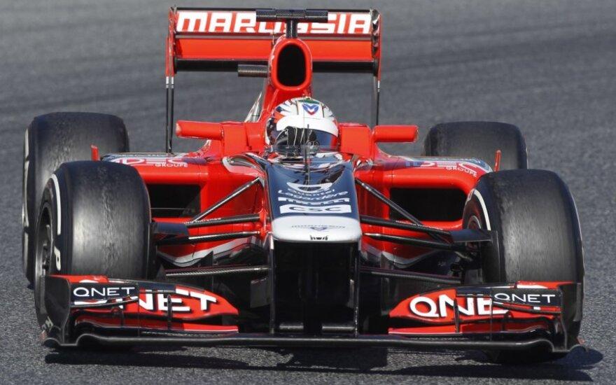 """Marussia"" komandos automobilis"