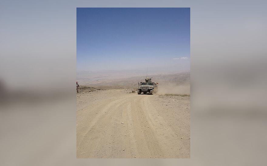 Šarvuotas HMMWV  automobilis, Afganistanas