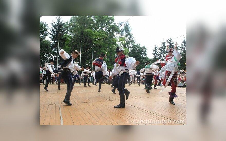 Čekų tautinis šokis