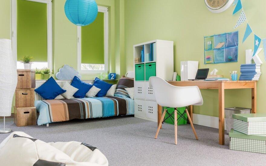 7 patarimai, padėsiantys įrengti jaukų kambarį vaikams