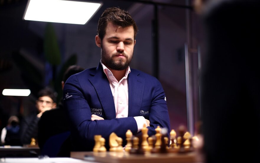 Magnusas Carlsenas
