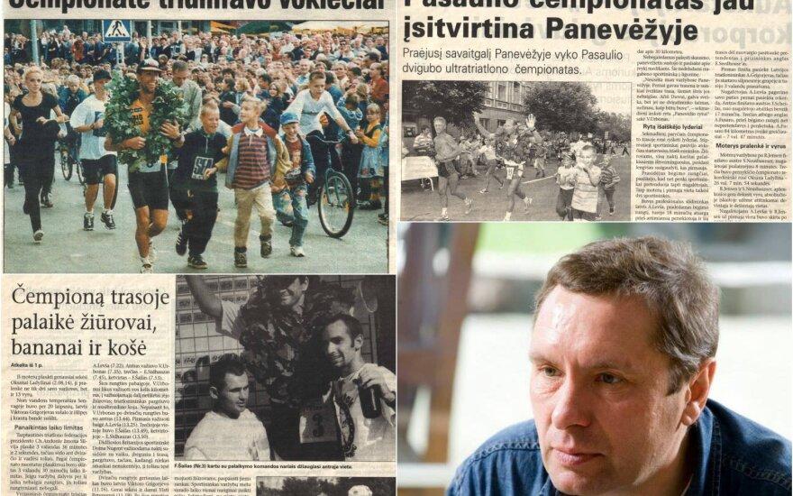 """Panevėžio """"Balso"""" laikraščiai, Vidmantas Urbonas"""