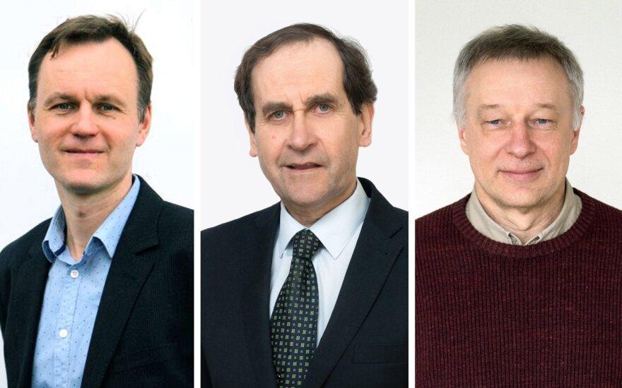 Trims Vilniaus universiteto mokslininkams suteiktas išskirtinio profesoriaus statusas