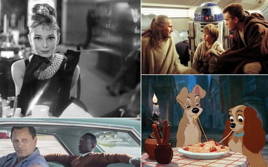 Kadrai iš filmų, kurie laikomi rasistiniais