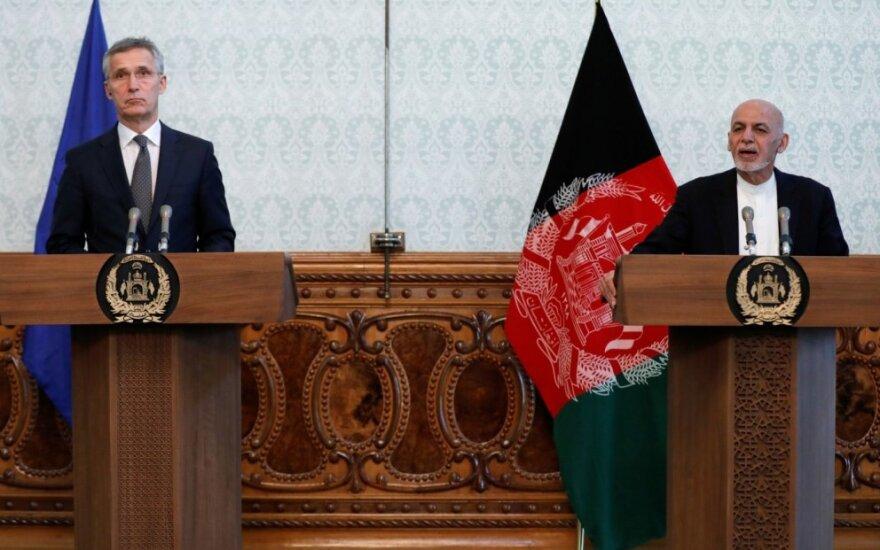 Jensas Stoltenbergas Afganistane