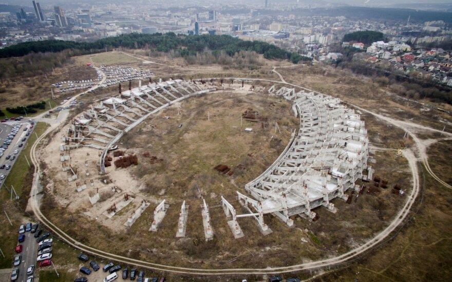 Sprendžiamas nacionalinio stadiono likimas