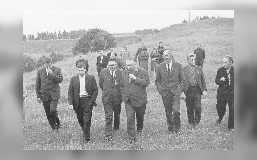 Anykščiai 1950-1980 m.: Paulius Širvys ir kiti poetai
