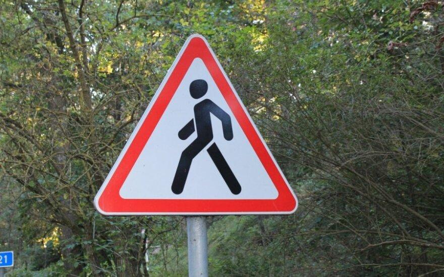 Pavojingiausios pėsčiųjų daromos klaidos
