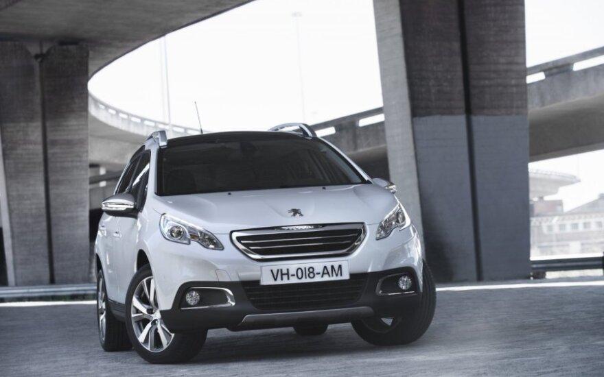 """Dabartinė """"Peugeot 2008"""" versija"""