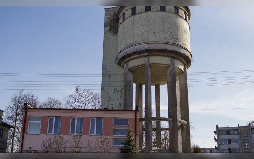 Vandens bokštas Panevėžyje // M. Garucko nuotr.