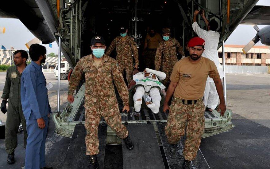 Per kelis sprogimus Pakistane žuvo mažiausiai aštuoni žmonės