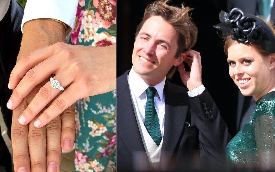 Princesė Beatrice ir Edoardo Mapelli