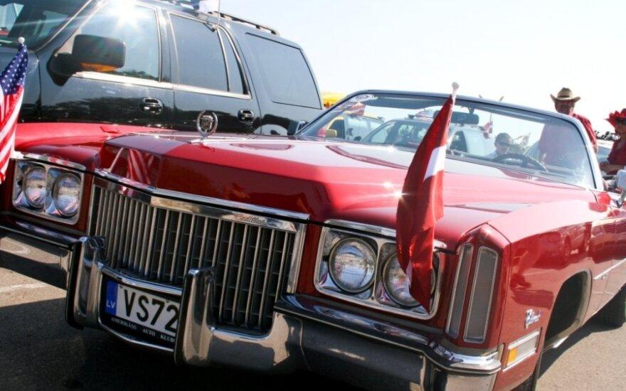 Amerikietiški automobiliai šturmuos Palangą
