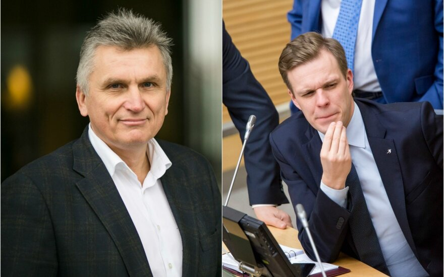 Virgis Valentinavičius, Gabrielius Landsbergis