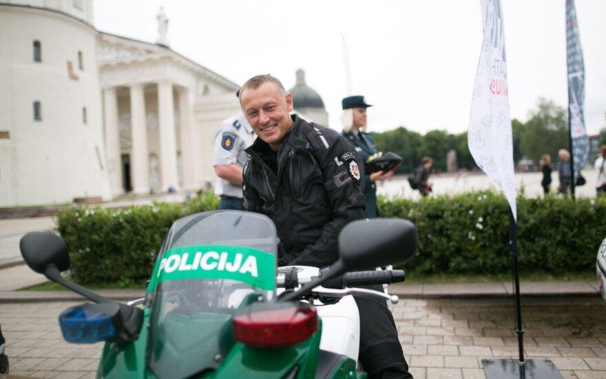 Dviratininkai sulauks didesnio policijos dėmesio