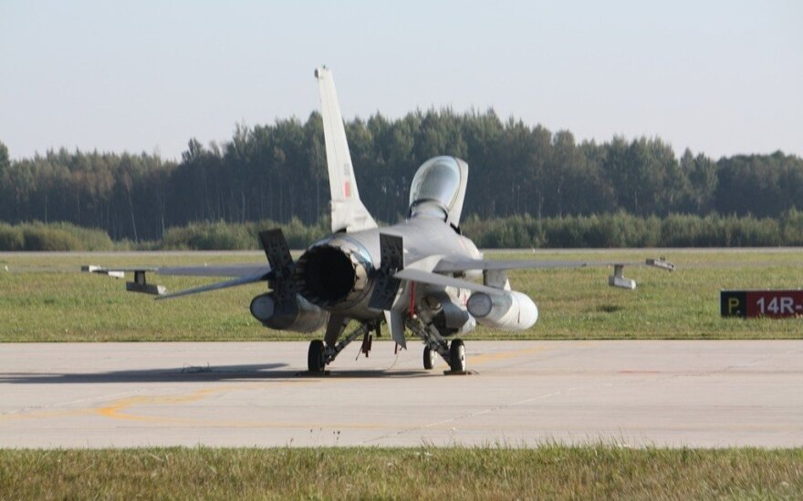Lithuania-based NATO jets alerted once by Russian plane last week