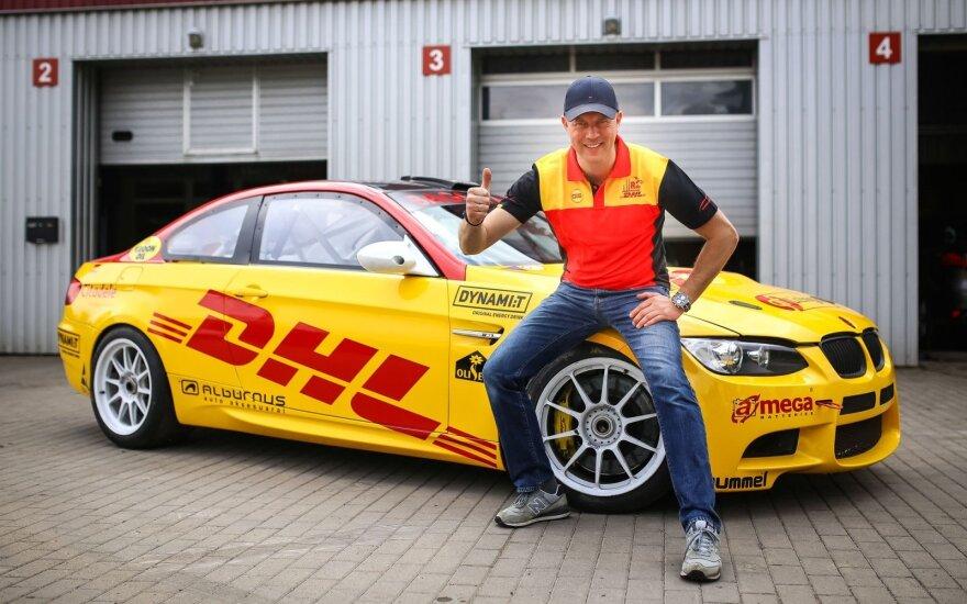 Ramūnas Čapkauskas titulą gins nauju automobiliu