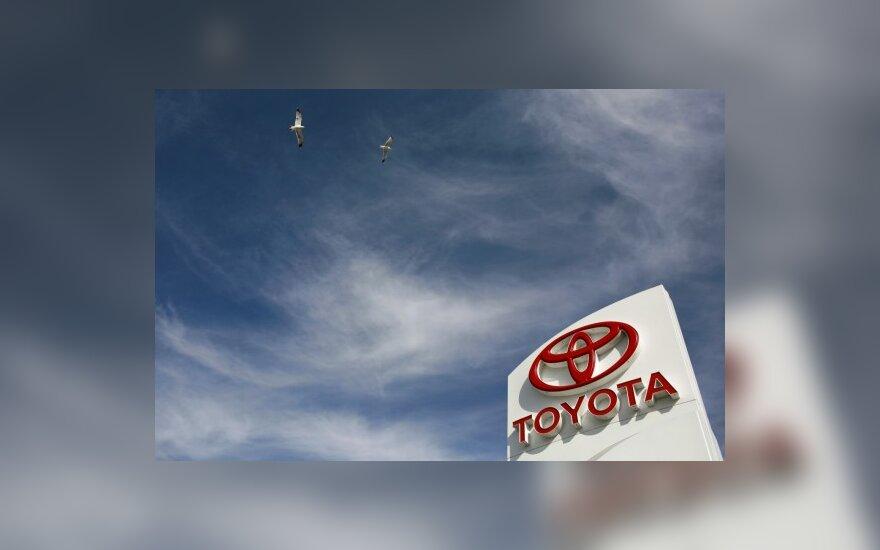 """""""Toyota"""" reklaminei kampanijai skyrė 20 mln. eurų"""