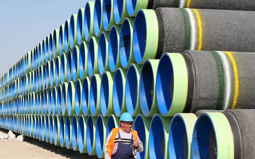 """Sekmokas: pastačius """"Nord Stream 2"""", """"Gazprom"""" toliau naudotų dominuojančia padėtimi"""