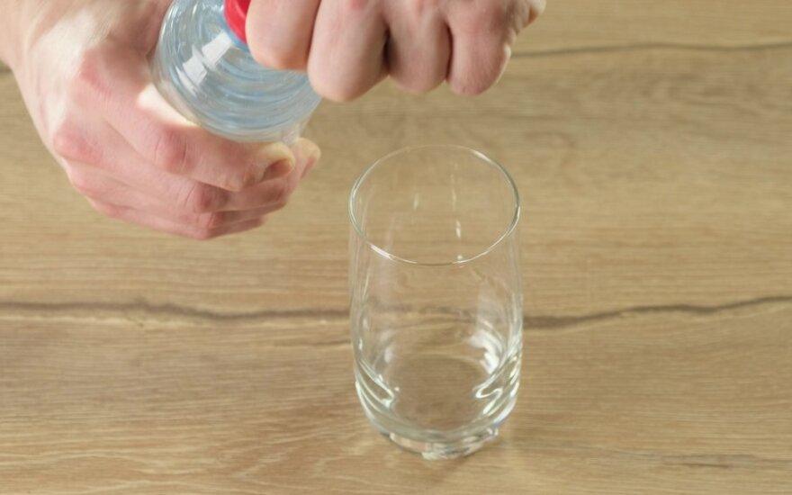 Neįprasti mineralinio vandens panaudojimo būdai